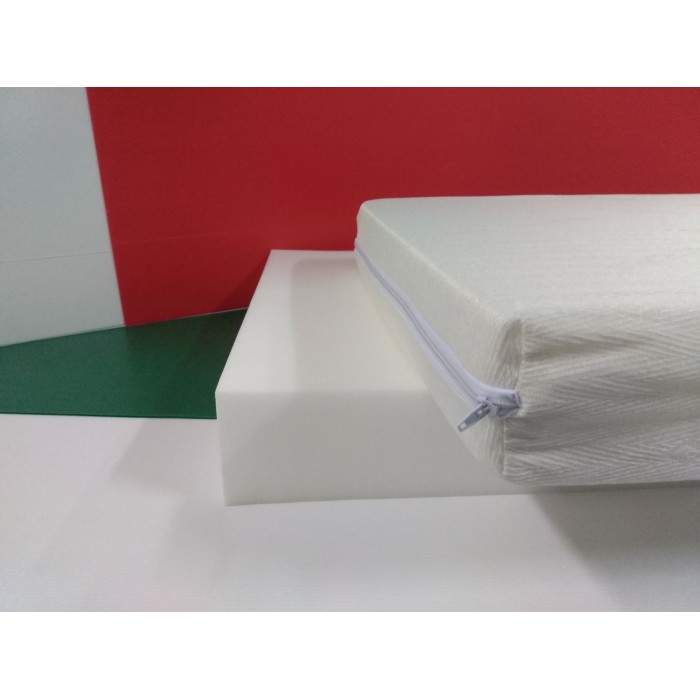 Materasso per culla Poli H10  Antiacaro sfoderabile